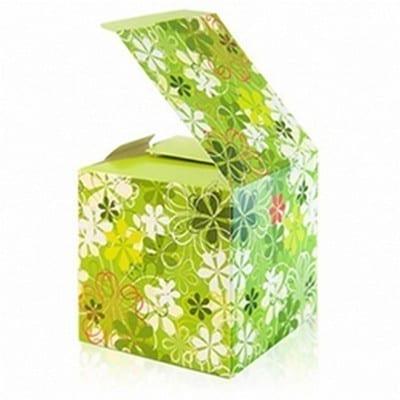 Коробка под кружку - Зеленая