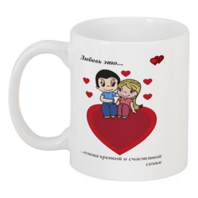 Кружка Love is №22