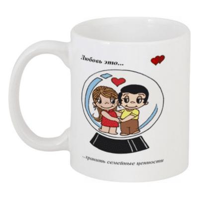 Кружка Love is №27