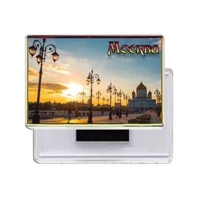 Прямоугольные акриловые магниты Москва купить