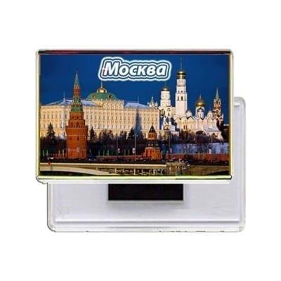 Прямоугольные магниты на холодильник Москва