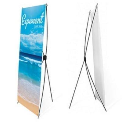 X-Banner Стенд с Х-образной системой крепления полотна