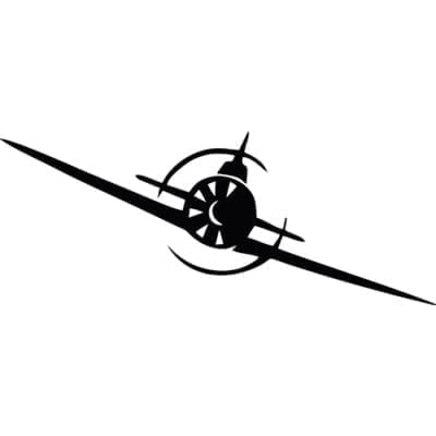 самолет СССР наклейка к 9 мая
