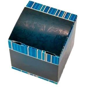 Коробочка для кружки синяя