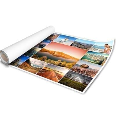 Печать широкоформатных фото