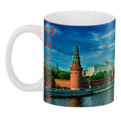 Сувенирные кружки с видами Москвы