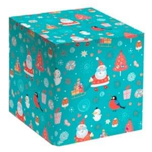 Коробка для кружек - Дед Мороз