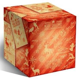 Коробочка для кружек - Mery christmas