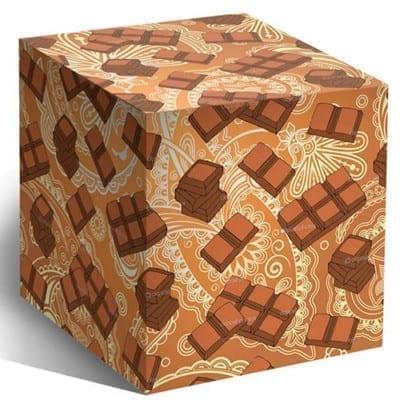 Коробочка для кружек - Шоколад