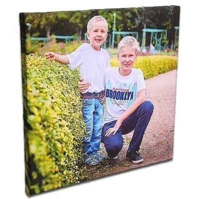 Печать фото на холсте 50х50 см.