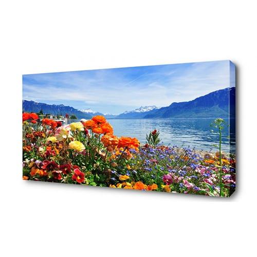 Печать фото на холсте 50х90 см.