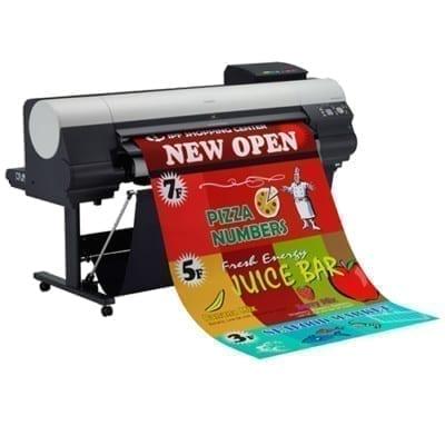 Широкоформатная печать на плакатной бумаге